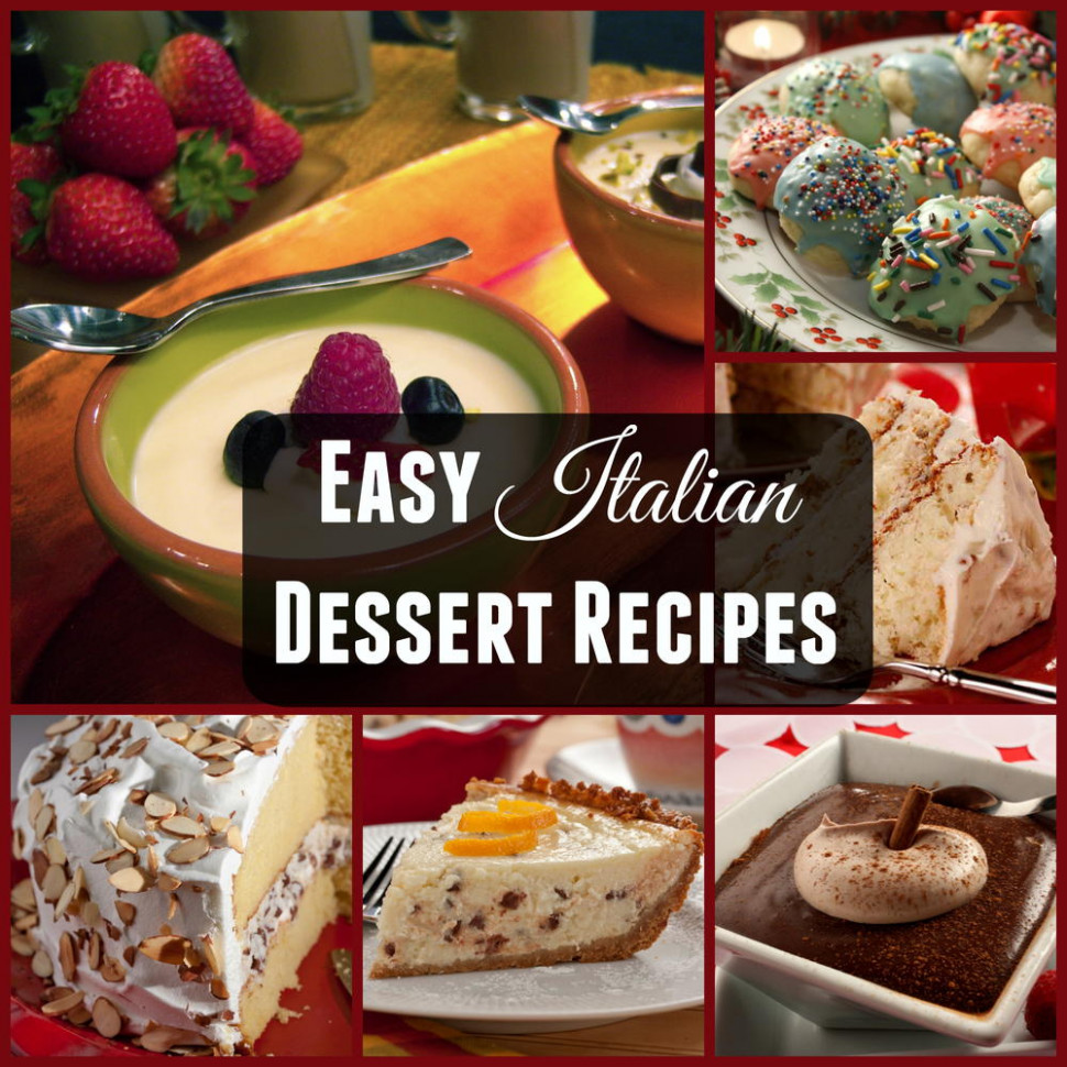 Italian Dessert Recipes | MrFood