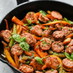 Italian Sausage, Onions And Peppers Skillet | Recipe …