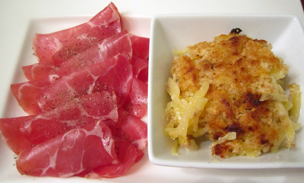 Italy Meet's Sweden : Coppa Ham & Janssons Frestelse @ Home by Hans susser