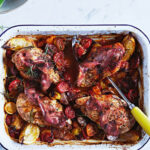Jamie's Easy Chicken Tray Bake Recipe | Woolworths