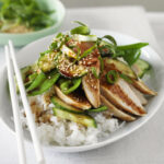 Japanese chicken on sushi rice | Healthy Recipe | WW Australia
