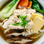 Japanese Chicken Udon Soup Recipe With Bok Choy | Jessica …