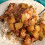 Jenny's Cuban Style Slow Cooker Chicken Fricassee