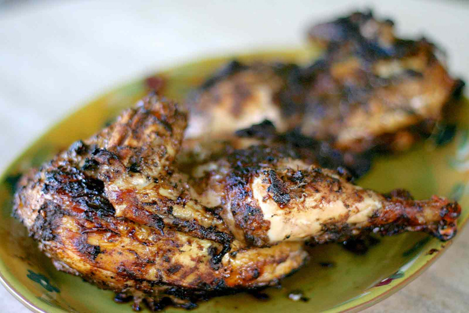 Jerk Chicken Recipe Baked or Grilled! | SimplyRecipes.com