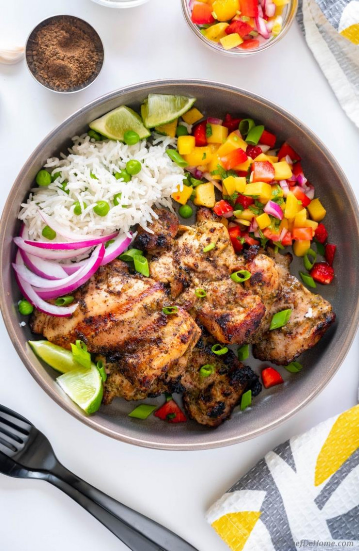 Jerk Chicken with Amazing Jerk Marinade
