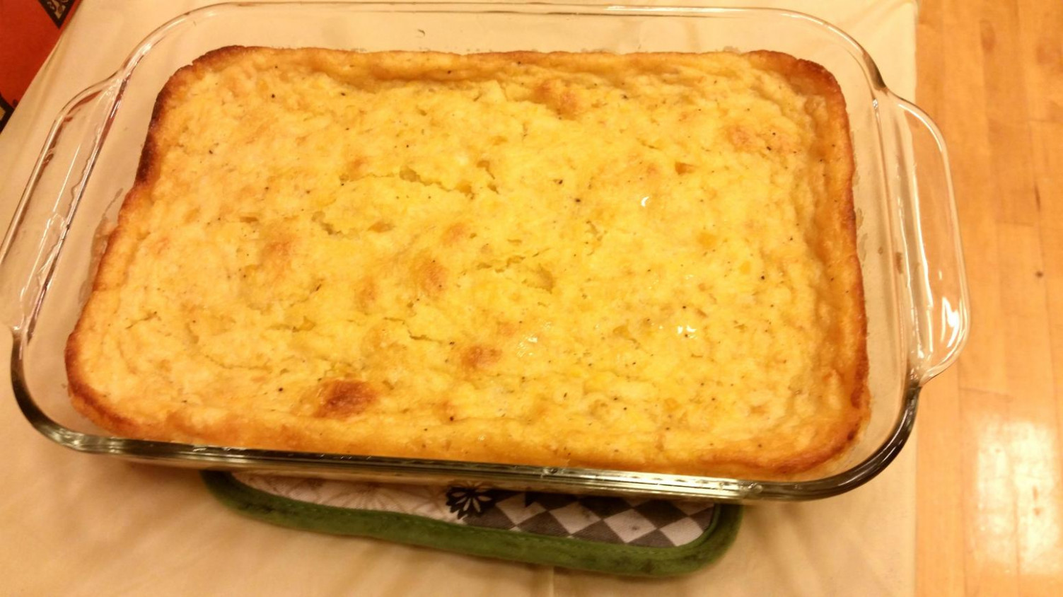 Jiffy Creamed Corn Casserole Recipe | Just A Pinch Recipes