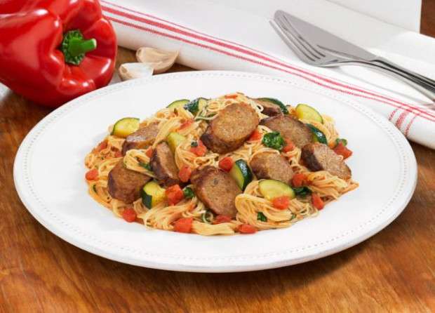 Johnsonville Spicy Pasta Skillet - Johnsonville.com