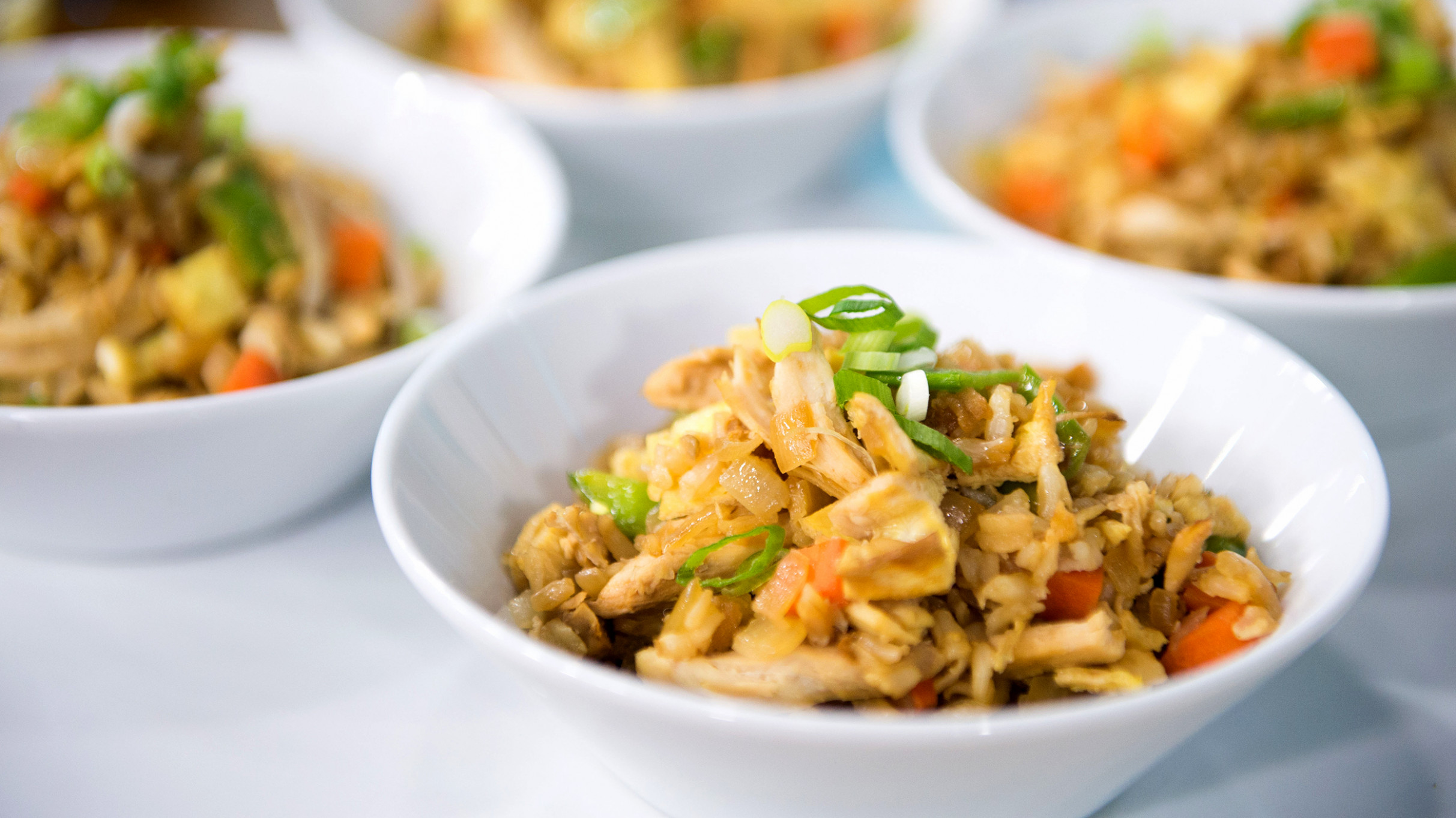 Joy Bauer's healthy chicken fried rice and pancake recipes ...