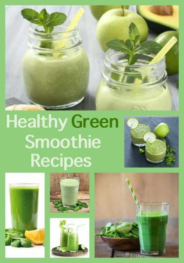 Just Healthy Green Smoothie Recipes with WW Points Plus