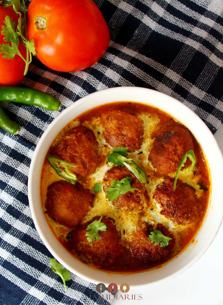 Kachkolar Kofta Curry