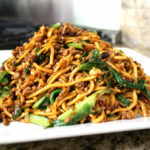 Kaitlin's Special Noodles (Ground Pork Lo Mein) – The Woks …