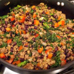 Kale And Ground Beef/Turkey Taco Filling | Audrey's Apron