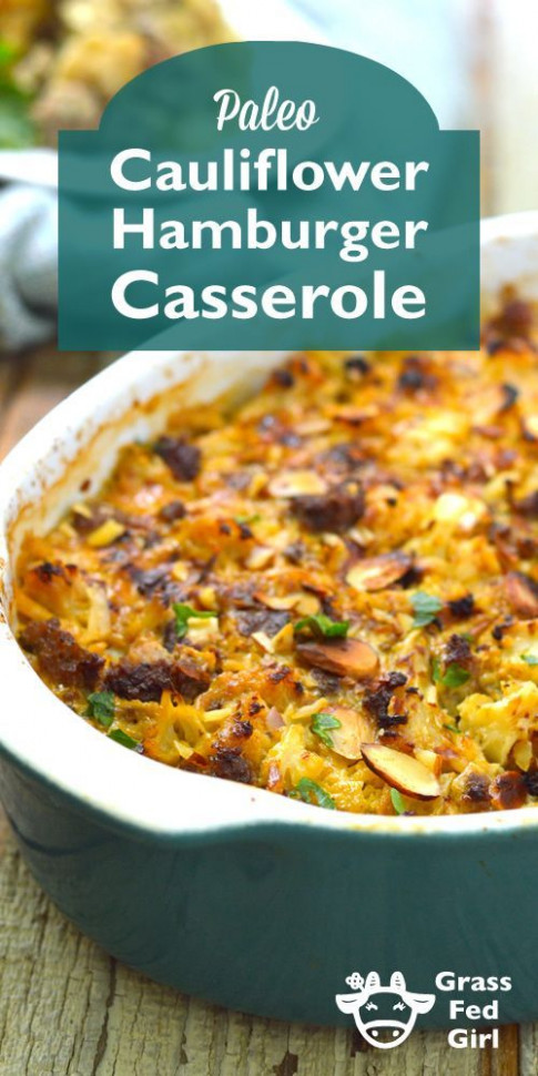 Keto And Low Carb Hamburger Casserole | Recipe | Low Carb …
