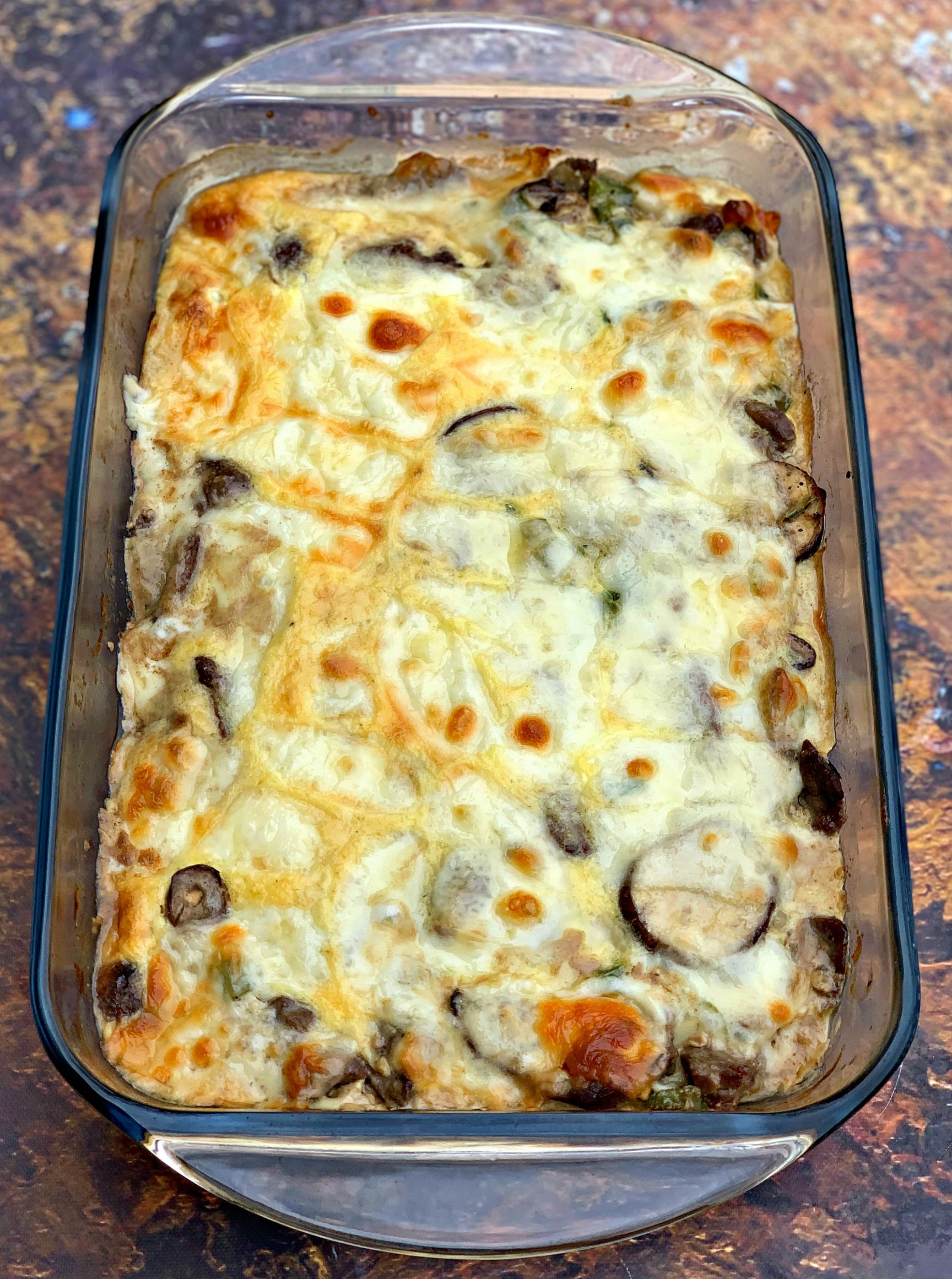 Keto Low Carb Philly Cheese Steak Casserole