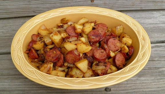 Kielbasa and Potatoes Recipe - Easy Kielbasa Recipes