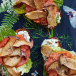 "King Oyster Mushroom ""BLT"" With Basil Mayonnaise Recipe …"