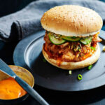 Korean Fried Chicken Burger Recipe – Dan Hong :: Gourmet …