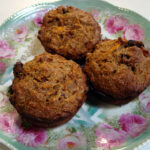 Kristy's Whole Wheat Sweet Potato Muffins