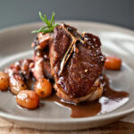Lamb Chops with Rosemary and Grapes Recipe - Quick From ...