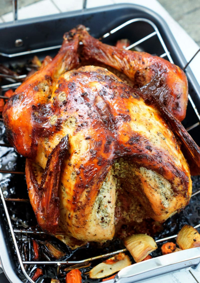 Latin-Style Turkey With Mojo and Sazón Achiote | Smart ...