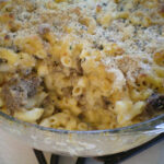 Layered Mac 'n Cheese With Ground Beef