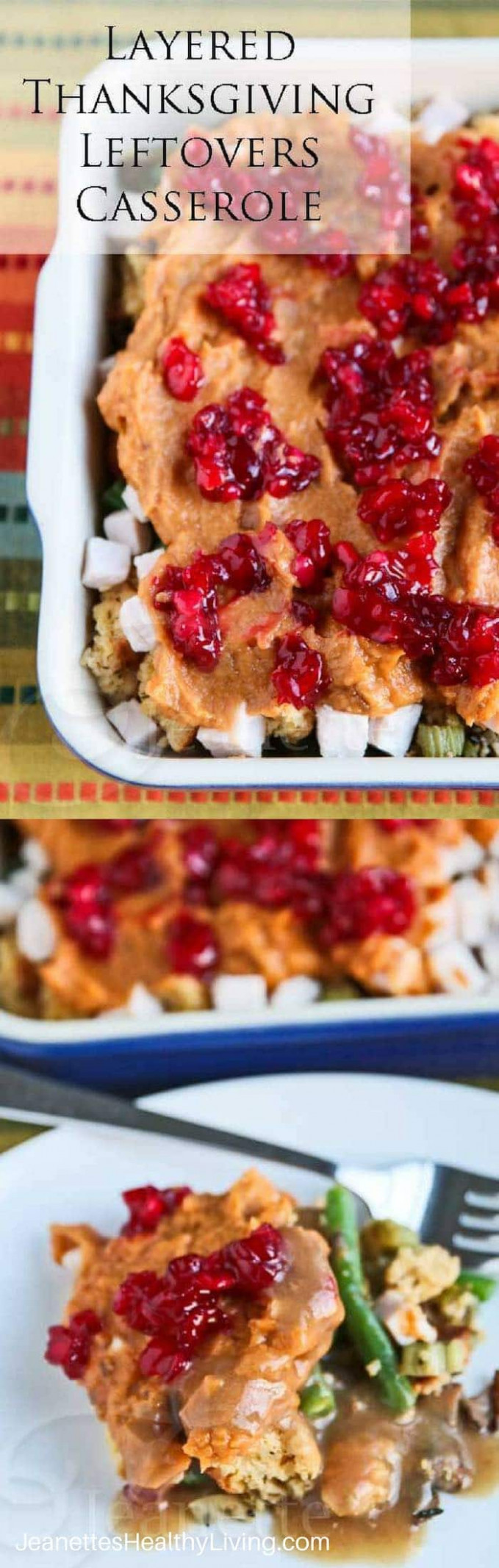 Layered Thanksgiving Leftovers Casserole Recipe {30 ...