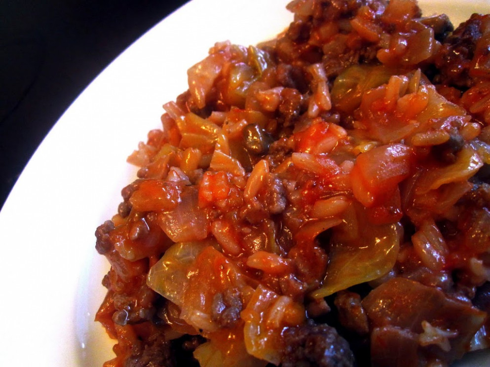 Lazy Cabbage Rolls - Food & Whine