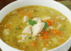 Leftover Rotisserie Chicken Soup | The Kitchen is My ...