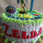 Legend Of Zelda Cake | Food & Drink In 2019 | Zelda …