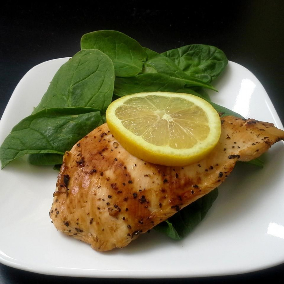 Lemon and garlic chicken recipe - All recipes UK