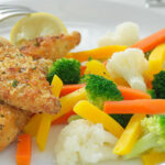 Lemon And Herb Crumbed Chicken | Food In A Minute