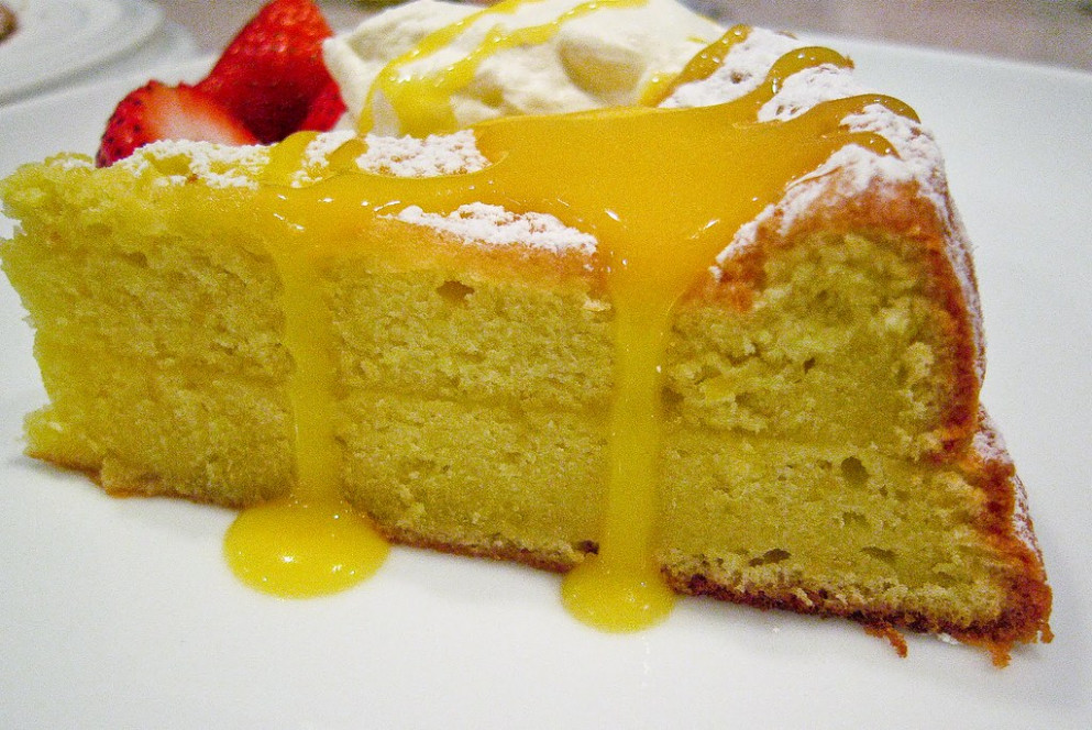 Lemon Cake @ GOURMANDIA