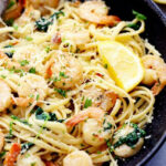 Lemon Garlic Parmesan Shrimp Pasta | The Recipe Critic