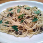 Lemon Pasta With Capers Recipe | Feature Dish