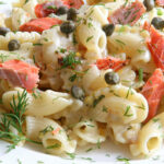 Lemony Pasta With Smoked Salmon And Dill (Secret Recipe Club)