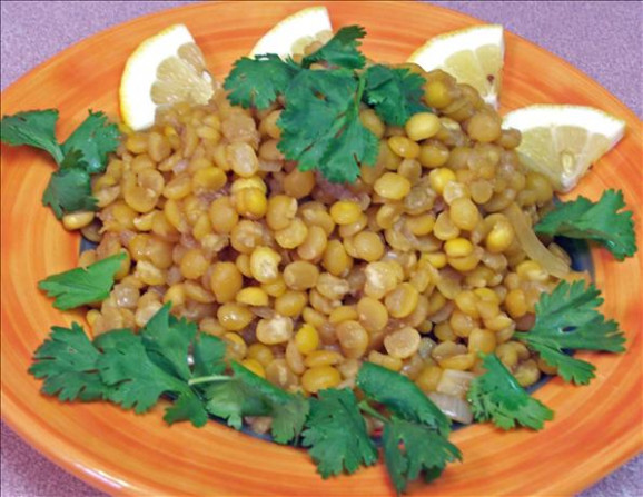 Lemony Yellow Lentils Recipe - Food