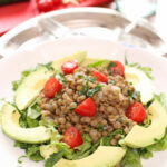 Lentil Avocado Salad