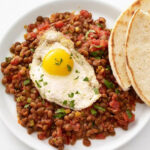 Lentils With Fried Eggs Recipe | Food Network Kitchen …
