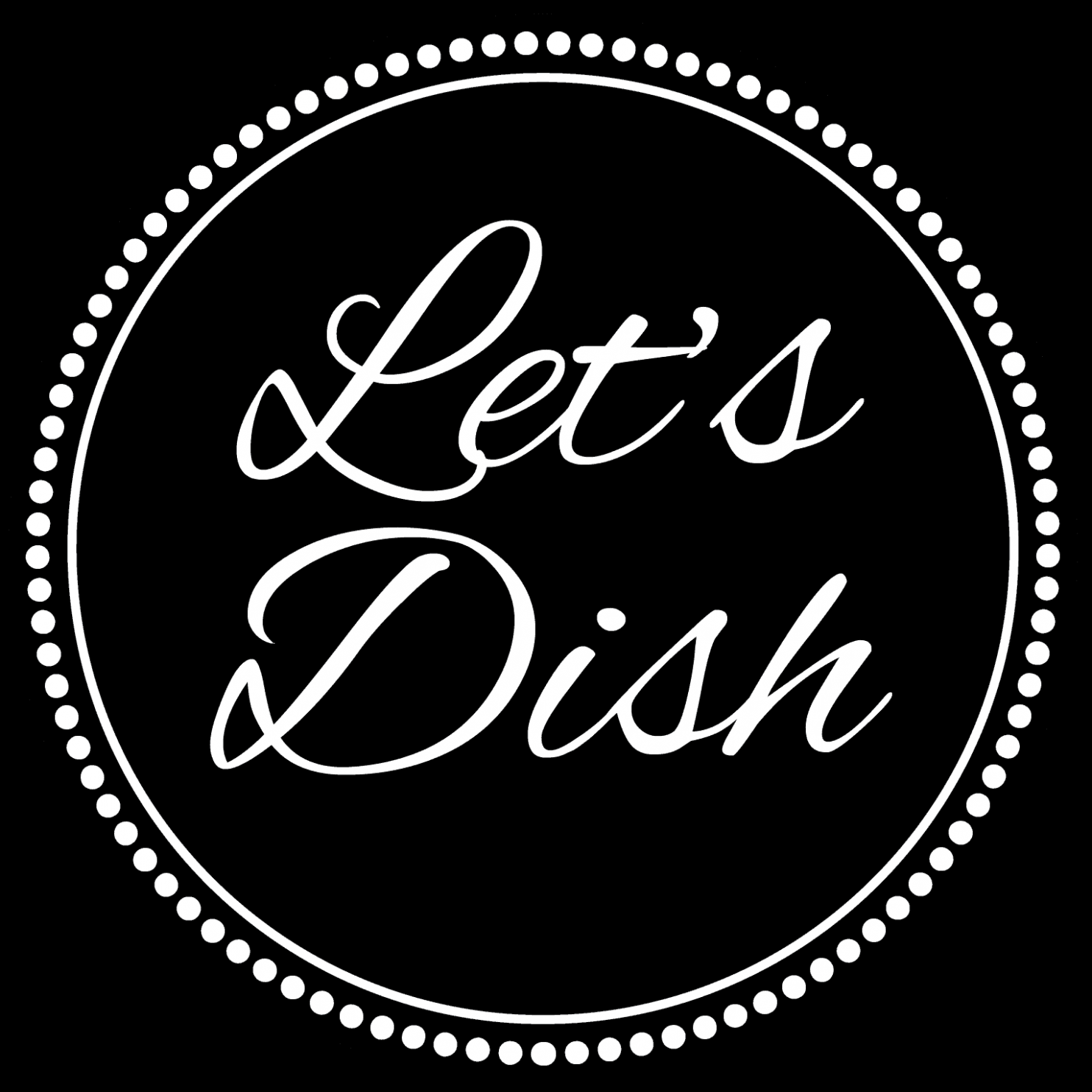 Let's Dish Logo | Let's Dish Recipes