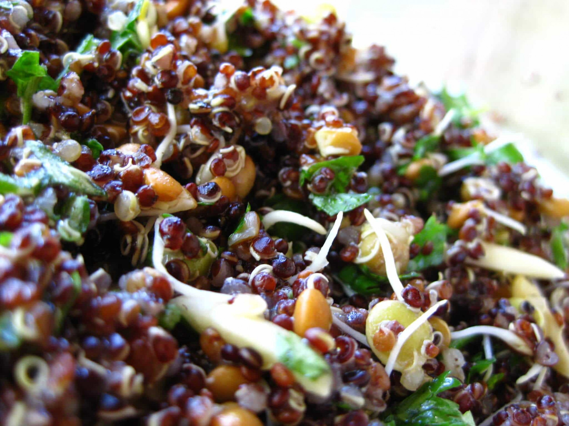 Lime Summer Quinoa Salad Recipe - Greener Ideal