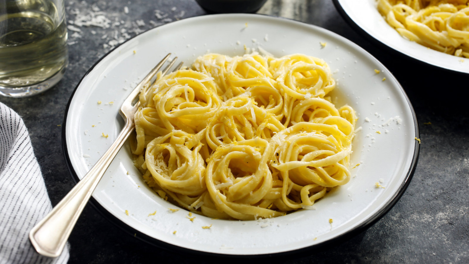 Linguine With Lemon Sauce Recipe - NYT Cooking