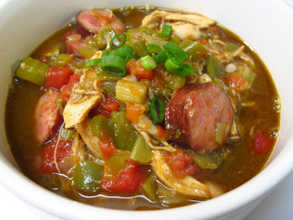 Louisiana Gumbo with Chicken, Andouille and Shrimp ...
