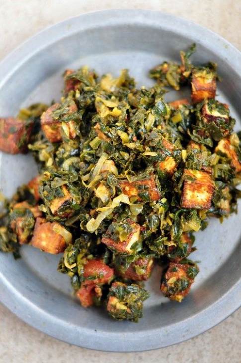 Low Calorie Indian Spinach Paneer Palak recipe – 199 ...