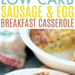 Low Carb Breakfast Casserole – Low Carb Sausage And Egg …