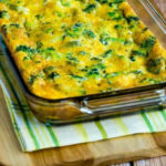 Low Carb Broccoli Cheese Breakfast Casserole – Kalyn's Kitchen