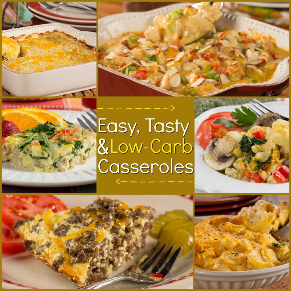 Low-Carb Casseroles: 22 Easy and Tasty Recipes ...