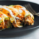 Low Carb Chicken Zucchini Enchilada – Primavera Kitchen