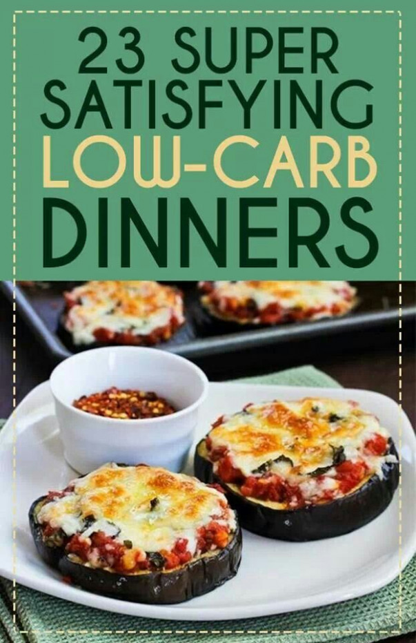 Low Carb: Dinner Ideas Low Carb
