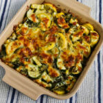 Low-Carb Easy Cheesy Zucchini Bake (Video) - Kalyn's Kitchen