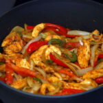 Low Fat Chicken Fajitas